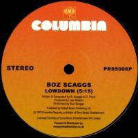 BOZ SCAGGS - Lowdown / Jojo / What Can I Say : COLUMBIA (UK)