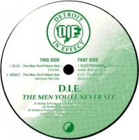 VARIOUS ARTISTS - The Men You'll Never See EP : 12inch