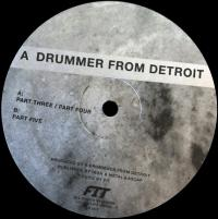 A DRUMMER FROM DETROIT - Drums #2 : 12inch