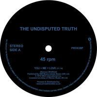 THE UNDISPUTED TRUTH - You + Me = Love / Sandman : 12inch 180g Vinyl