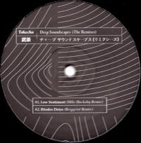 TAKECHA - Deep Soundscapes (The Remixes) (incl. Mike Huckaby, Bergqvist, Dj Sports, Raam, and lns remixes) : 12inch