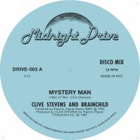 CLIVE STEVENS AND BRAINCHILD - MYSTERY MAN (VELVET SEASON & THE HEARTS OF GOLD REMIX) : 12inch