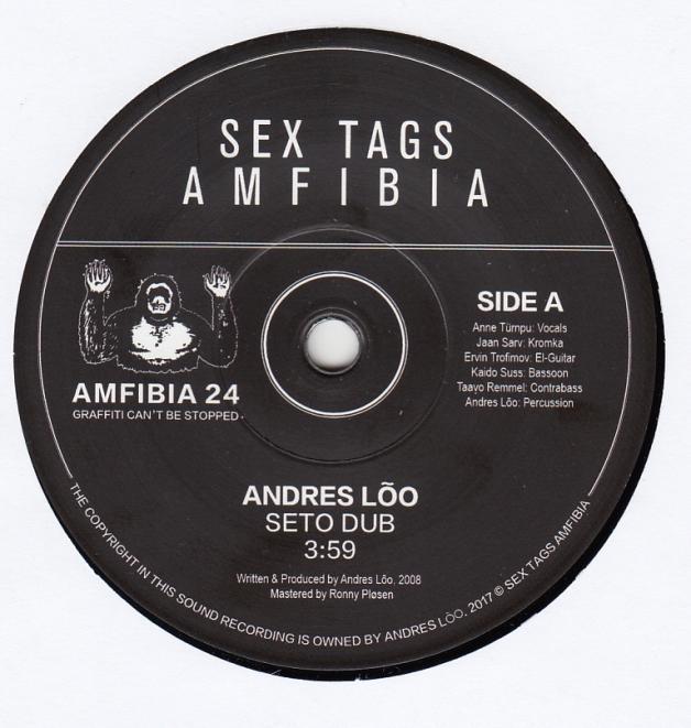 andres lÕo seto dub 7inch newtone records