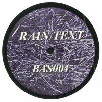 n_t0085995Rain Text - 2 : Bastakiya Tapes <wbr>(UAE)