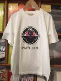 MULTI CULTI ☓ CHILL MOUNTAIN - T-shirts White/PinkPurple Size:L : MULTI CULTI ☓ CHILL MOUNTAIN (JPN)