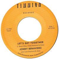 JONNY BENAVIDEZ & COLD DIAMOND & MINK - Let's Get Together : 7inch