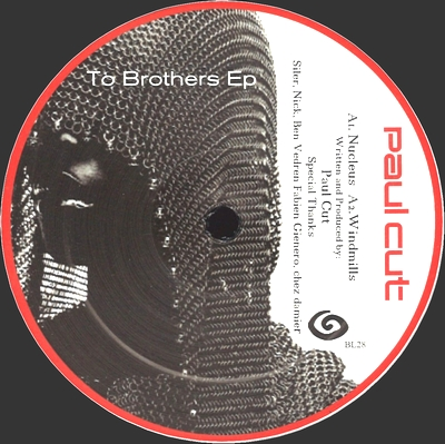 PAUL CUT - To Brothers EP : 12inch