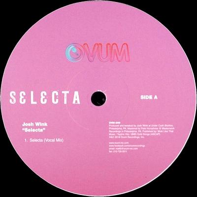 JOSH WINK - Selecta : OVUM (US)
