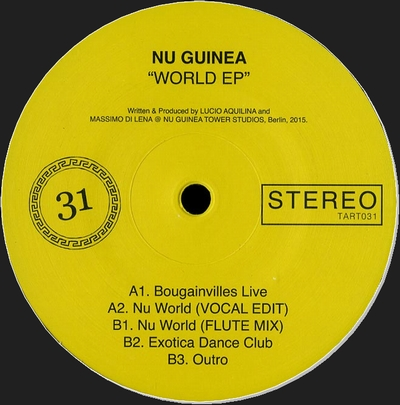 NU GUINEA - World EP : 12inch