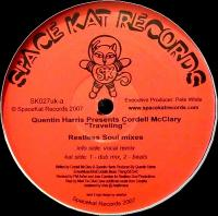 QUENTIN HARRIS Presents CORDELL MCCLARY - Traveling (Restless Soul Mixes) : 12inch