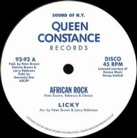 LICKY / DREAM LOVERS - AFRICAN ROCK : 12inch