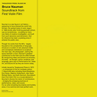 BRUCE NAUMAN - Soundtrack From First Violin Film : BLUME (ITA)