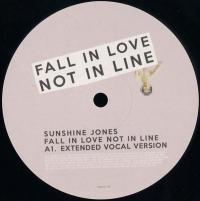 SUNSHINE JONES - FALL IN LOVE, NOT IN LINE : THE URGENCY OF CHANGE (US)
