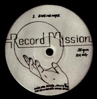 NICK THE RECORD, DAN & THE NO COMMERCIAL VALUE BAND - RECORD MISSION 4 : 12inch