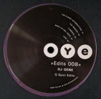 DJ GENE - G-Spot Edits : 12inch