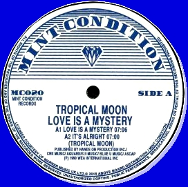 TROPICAL MOON - Love Is A Mystery EP : 12inch