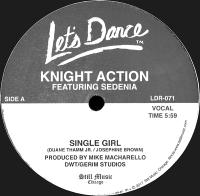 KNIGHT ACTION - Single Girl : 12inch