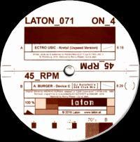 ECTRO USIC / A.BURGER - Kratal / Device C (DJ Sotofett's808 Club Mix) : LATON (AUT)