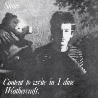 STANO - Content To Write In I Dine Weathercraft : UKLP