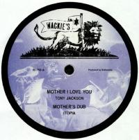 TONY JACKSON/ JAH B - Mother I Love You / Vampire : 12inch+DOWNLOAD CODE