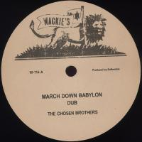 THE CHOSEN BROTHERS - March Down Babylon : 12inch+DOWNLOAD CODE