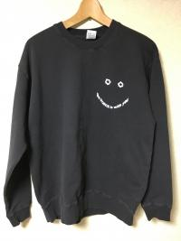 YPY - CULT MANIAC BLACK SWEAT: L-size : BIRDFRIEND (JPN)