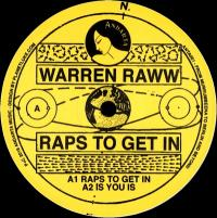 WARREN RAWW - Raps To Get In : ANDARTA (HOL)