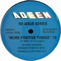 ALTON MILLER - More Positive Things : 12inch