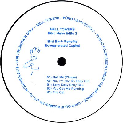 BELL TOWERS - B端ro Hahn Edits 2 : PUBLIC POSSESSION / UNDER THE INFLUENCE
