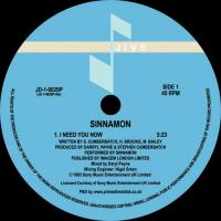 SINNAMON - I Need You Now : 12inch