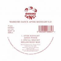 VA(Melancholy Man / Addis Posse / Watt Noize / No Smoke) - Warriors Dance After Midnight E.P. : 12inch