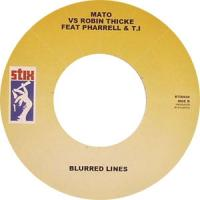 MATO - Suit & Tie / Blurred Lines : 7inch