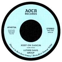 LUTHER DAVIS GROUP - Keep On Dancin / You : ATHENS OF THE NORTH (UK)