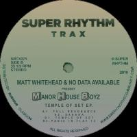 MATT WHITEHEAD & NO DATA AVAILABLE Present MANOR HOUSE BOYZ - Temple Of Set EP : SUPER RHYTHM TRAX (UK)