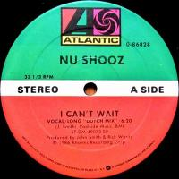 NU SHOOZ - I Can't Wait : ATLANTIC <wbr>(US)