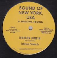 JOHNSON PRODUCTS / WILLIE WOOD - Johnson Jumpin'  / Willie Rap : 12inch