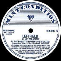 LEFTFIELD - Not Forgotten : MINT CONDITION (UK)