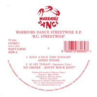 VA - Warriors Dance RU Streetwise EP鐚?Record Store Day 2019鐚?鐚? : WARRIORS DANCE (UK)