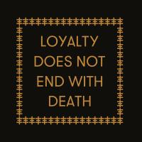 GENESIS BREYER P-ORRIDGE & CARL ABRAHAMSSON - Loyalty Does Not End With Death : LP