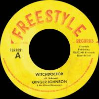 GINGER JOHNSON AND HIS AFRICAN MESSENGERS - Witchdoctor : 7inch