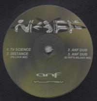 ANF - TV Science (Inc. D. Tiffany Remix) : 12inch