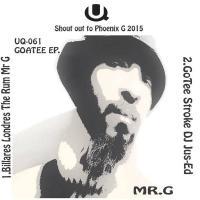 MR. G / DJ JUS-ED - Goatee : 12inch