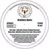 BROTHERS DAVIS - Billy Mac Attack : 12inch