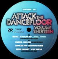 VARIOUS ARTISTS - Attack The Dancefloor Vol.13 : 12inch
