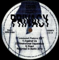 PRIVACY - Command Pattern EP : 12inch