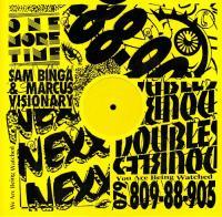 SAM BINGA & MARCUS VISIONARY - Doubles EP : HOTLINE (UK)