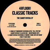VARIOUS ARTISTS - The Sandy Rivera EP (Moodymann Edit) : 4 TO THE FLOOR (UK)