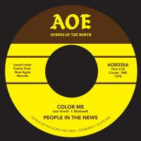 PEOPLE IN THE NEWS - Color me : 7inch