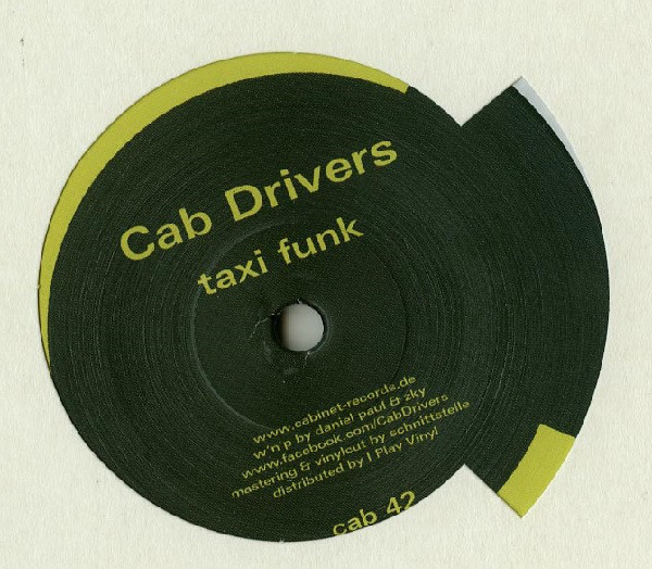 CAB DRIVERS - Taxi Funk : 12inch