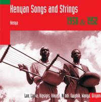VARIOUS - HUGH TRACEY - Kenyan Songs And Strings : SWP (HOL)